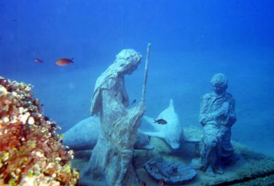 Meraviglie del Mare – Il presepio dei delfini