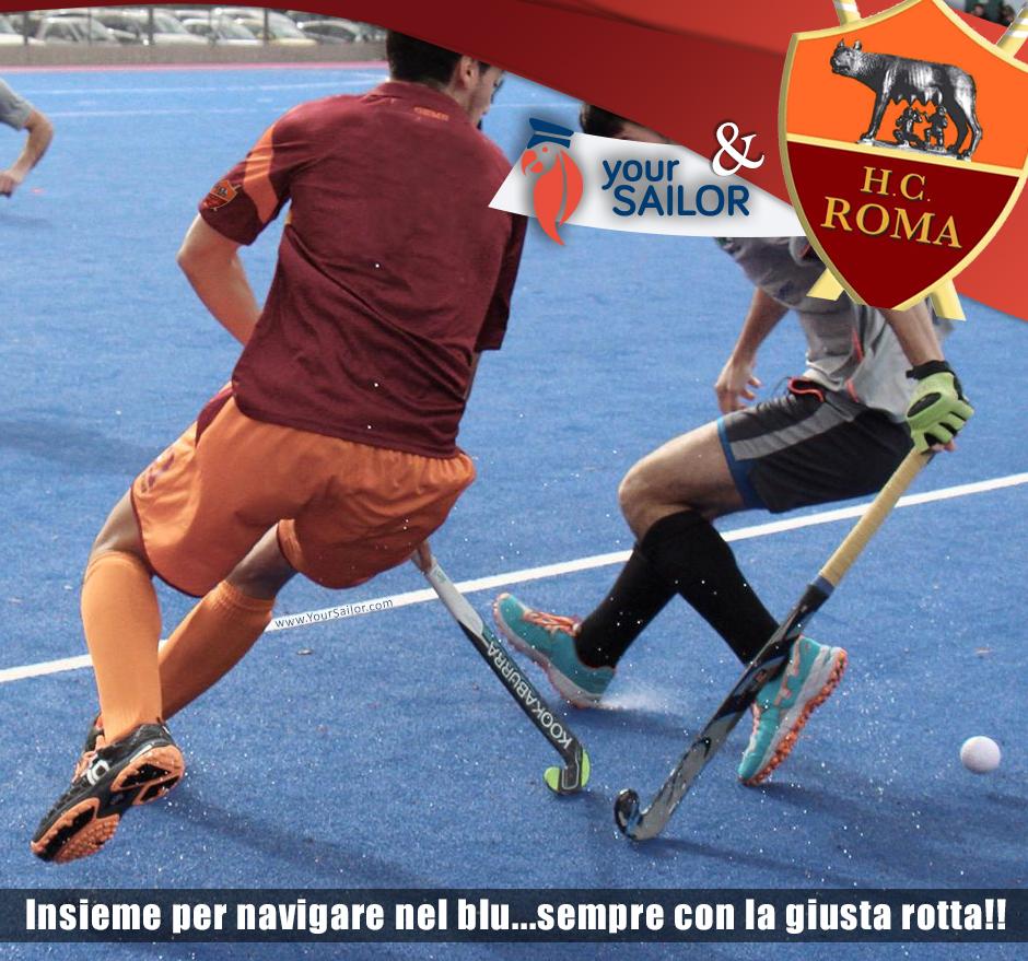 YourSailor sponsor di H.C. Roma!